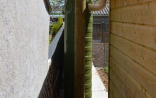Connexion et remplissage du mur et réserve d'eau ecoleaumur