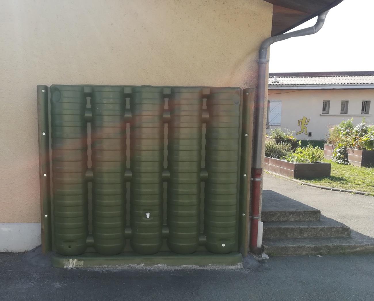 Fabriquer Un Abri Pour Velo solutions de récupération d'eau de pluie - ecol'eaumur
