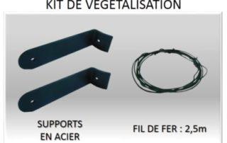 Kit de végétalisation pour Ecol'eaumur